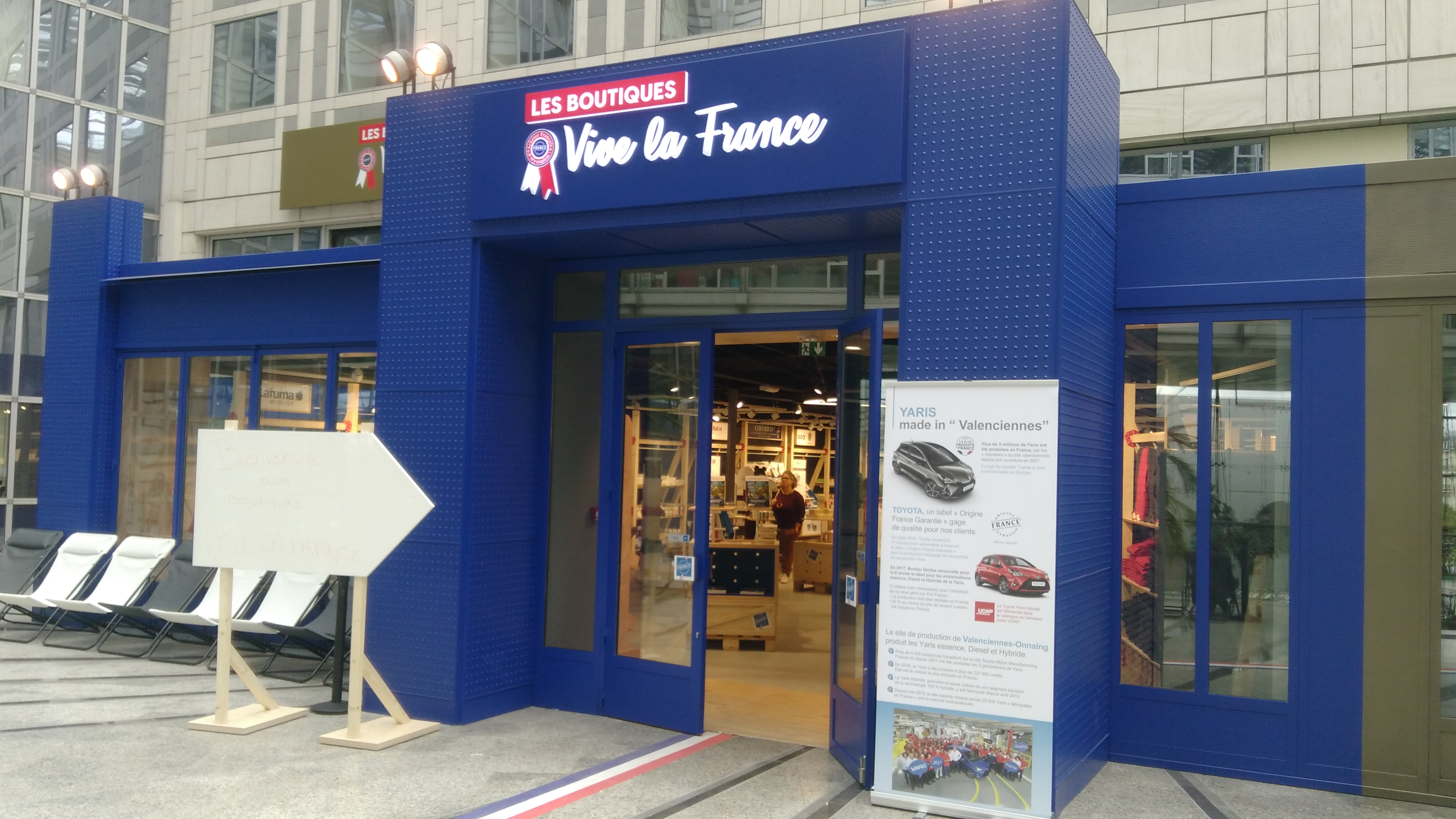 Boutique « Vive la France »